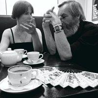 кофе с веером :: Марина Буренкова