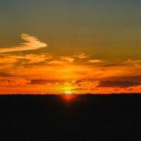 закат на полигоне :: Екатерина Краева