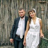 На фоне плетени :: Дмитрий Конев