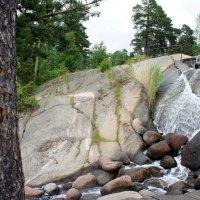Водный парк Сапокка в Котке. Водопад :: Елена Павлова (Смолова)