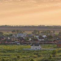 С добрым утром!  Вид на микрорайон Город Счастья  и квартал В-25 :: Антон Сологубов