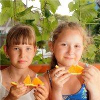 Каникулы in orange :: Артур Овсепян