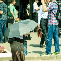 Под зонтом :: Мария Шуляковская