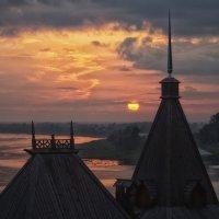 закат  в Городце :: Ирина ***
