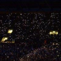 ,,Звёздное небо,, на стадионе.. :: Татьяна Кретова