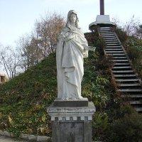 Скульптура  Пресвятой  Богородицы  в  Городенке :: Андрей  Васильевич Коляскин