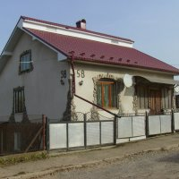 Жилой  дом  в  Городенке :: Андрей  Васильевич Коляскин