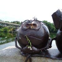 Портрет продвинутого современника: Тихий язык - умная голова... :: Алекс Аро Аро
