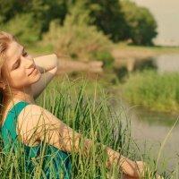 Рассвет на реке Томь... :: Юлия