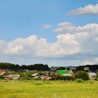 Небо над деревней :: Полина Потапова