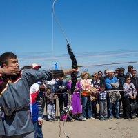 соревнования по стрельбе из лука :: Наталья Литвинчук