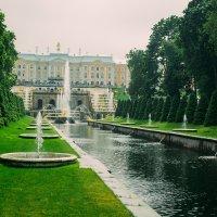 фонтаны в Петергофе :: Анастасия Жигалёва