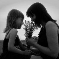 мама и дочка :: Ольга (Кошкотень) Медведева