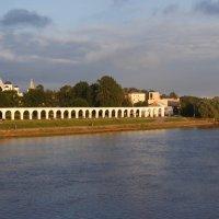Торговые ряды в Великом Новгороде :: Алексей Корнеев