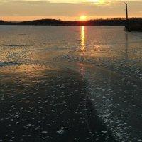 Зимний восход...  Немного прохлады в жару...!)))) :: Валерия  Полещикова