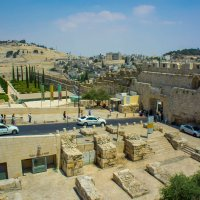 Иерусалим, Старый Город, вид на Масличную гору и Мусорные ворота :: Игорь Герман