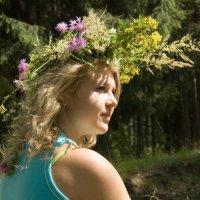 Девушка в венке из полевых цветов :: Влад Нордвинг