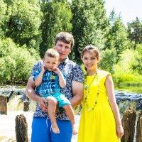 Яркая семья :: Екатерина Чистякова