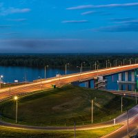 Мост через р.Обь :: Андрей Поляков