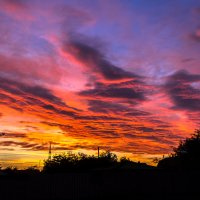 Небо в огне... :: Александр Кореньков