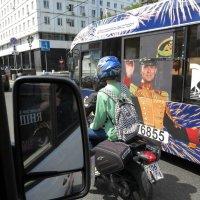 Джаз-стрит из окна авто :: Михаил Зобов
