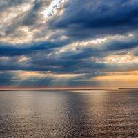 Закат над Балтийским морем :: Людмила Финкель
