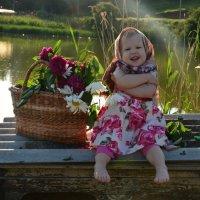 Моя младшая доча -Анечка :: Violafoto5