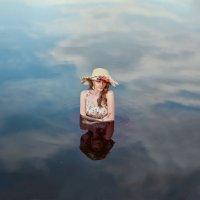 Небесное озеро :: Анастасия Курлаева