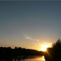 Закат над рекой :: °•●Елена●•° Аникина♀