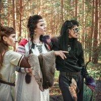 Лань, Рысь и Росомаха... :: Мария Дергунова