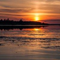 Июльский закат на Белом море :: Яна Старковская