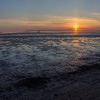 Последние лучики солнца на белом море. 22,30 :: Ирина Кузина