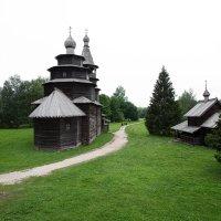 Музей деревянного зодчества (Витославлицы) :: Алексей Корнеев
