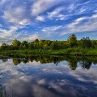 Река,облака :: Александр Преображенский