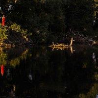 Девица в красном :: Евгения Кузнецова
