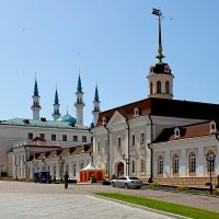 Главное здание Пушечного двора в Казанском кремле :: Денис Кораблёв
