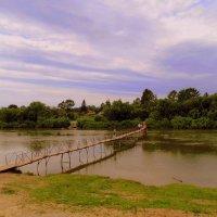 Берега и мост . :: Мила Бовкун