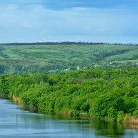 Хуторок Хоботок на реке Северский донец :: Marina Timoveewa