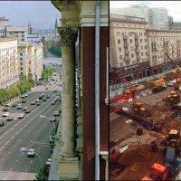 Тверская 80-е годы и сейчас.... :: Ирина Князева