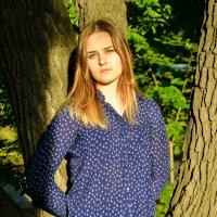 Ксюша и деревья :: Света Кондрашова