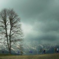 Высоко в горах, все в облаках :: татьяна