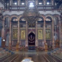 Иконостас Воскресенского храма  в Храме Гроба Господня в Иерусалиме :: Валерий Новиков