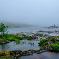 Ладога 2016. Вода, камни и туман :: Galina