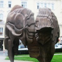 """Скульптура """"Моцарт и Констанция"""" (Зальцбург) :: татьяна"""
