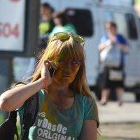 Фестиваль красок в Омске :: Savayr