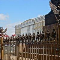 ограда Александрийского столпа :: Елена