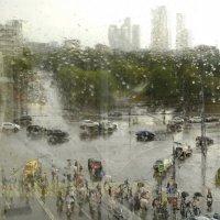 Дождь за окном 1 :: Марина Лучанская
