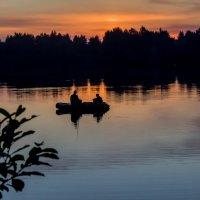 От заката до рассвета за 1 час. Рыбаки. :: Ирина Кузина