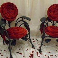 кресло роза :: лариса крутова