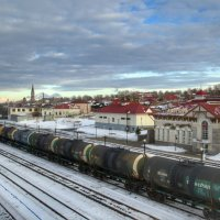 Железнодорожный вокзал :: Aleksandr Shishin